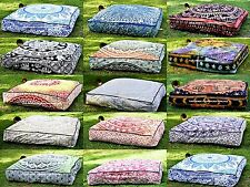 100% Cotton Square Decorative Floor Cushions | eBay