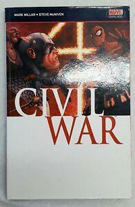 Civil War orgiainl  paperback - Graphic Novel - Marvel Comic
