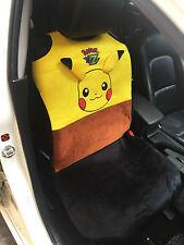 Pikachu Pokemon Car Accessory : 1 piece Car Front Seat Cover
