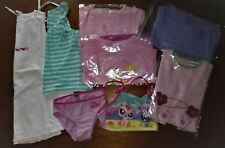LOT FILLE- PRINTEMPS ETE-MAILLOT BAIN PET SHOP-ROBE-PYJAMA DISNEY -T.4 ANS