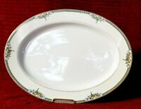 Antique 1920's Noritake China Large Oval Serving Platter Very Rare