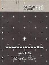 Marantz Service Manual Model ST310 stereo tuner receiver Original Repair Book
