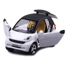 1:24 Scale Benz Smart ForTwo Alloy Diecast Model Car Toy Vehicle White Kids Gift