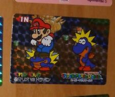 SUPER MARIO WORLD BANPRESTO CARDDASS CARD PRISM CARTE 17 NITENDO JAPAN 1993 **