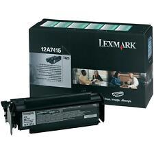 Toner originale Lexmark 12A7415, nero, originale