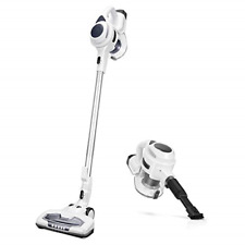 Moosoo Cordless Vacuum Cleaner, 2 in 1 Stick Vacuum with 15Kpa Strong Suction,