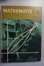 Oberschule Mathematik 9. Klasse, DDR Lehrbuch, Volk und Wissen 1968****,