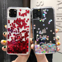 For iPhone 12 Pro Max 11 XR XS X 8 7+ Luxury Dynamic Liquid Quicksand Case Cover