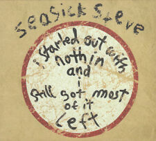 Seasick Steve – I Started Out With Nothin... Digipak CD - Very Good Condition