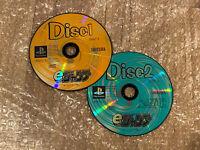 e-Jump Magazine Shueisha Promo Demo Discs 1+2 Japan PS1 PlayStation 1