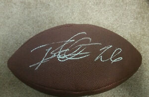 Rod Woodson Signed Autographed Football JSA COA NFL Steelers Ravens Hall Of Fame