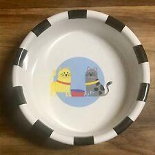 Room Creative Signature Stoneware Cat Food Dish PreOwned