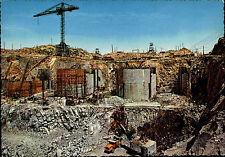 ASSUAN Aswan Assouan Agypten Egypt Baustelle Damm Baukran Talsperren Bau-Zustand