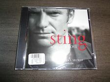STING SONGS OF LOVE VICTORIA'S SECRET EXCLUSIVE (CD/2003/A&M RECORDS)