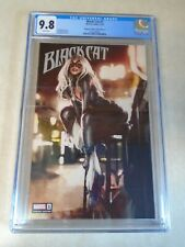 Black Cat Issue #1 Unknown Comics Parel Edition A. CGC Graded 9.8. Marvel
