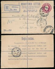 Gb Kg5 Registered Stationery 1924 Aberdeen Circle