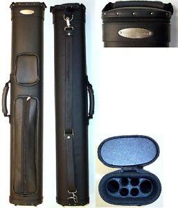 New McDermott Case Shooters SC 2x4 Pool Case 2x4 Black Hard Case - Model 75-0804