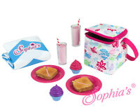 "Doll Clothes 18"" Picnic Lunch 12Piece Sophia's Sized For American Girl Doll"