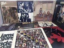 Classic Rock Lp Vinyl Record Lot Rolling Stones Bob Dylan Steely Dan Grand Funk