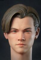 1/6 Leonardo Titanic Young Male Figure Head Carving Sculpt fit 12'' Figure