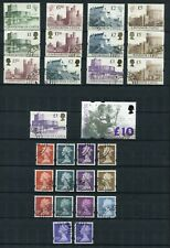 More details for great britain 1971-2005 definitives inc castles series, large/small machins