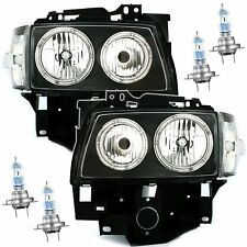 VW T4 96- Angel Eyes Scheinwerfer Set Schwarz + OSRAM Night Breaker Unlimited H7