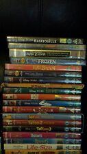 42 Disney dvd bundle job lot toy story 1 2 3 cars up bolt brave frozen planes