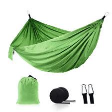 Двойное лицо гамак сна кровать для путешествий на открытом воздухе, кемпинг 2 человек кровать 270*140CM