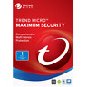 Trend Micro Maximum Security 2019 One Device 1 Year PC | MAC | Android