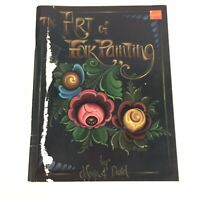 The Art of Folk Painting by Jo Sonja Decorative Tole Painting Book Vintage