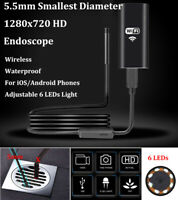 Wifi HD 720P Inspection Camera Endoscope for iPhone XS X 8 Samsung Galaxy S9 S10