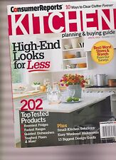 CONSUMER REPORTS KITCHEN Planning & Buying Guide FEB 2012,HIGH-END LOOKS FOR LES