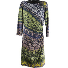 Muse Multicolor Stretchy 3/4 Sleeve Dress Women's Size 10