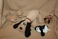 Vintage Lot of 5 Pound Puppies & Purries incl. Large Dog Tonka 1985