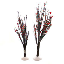 Department 56 Accessory Winter Berry Trees Set/2 Christmas Wire 4020263
