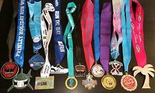 HUGE Lot of 16 Race RUN 5k 10k Marathon RARE Olympic Gold Silver Bronze MEDALS