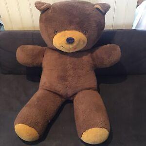 Extra Large Vintage Brown TEDDY BEAR - 91 Cm Gift Birthday