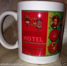 CHOPSUEY HOTEL CHOP SUEY MUG ORIENTAL MOTIFF CHINESE GIRL 12 OZ CUP RED LANTERN