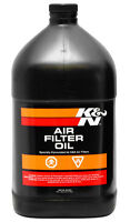 99-0551 K&N KN AIR FILTER OIL RED 1 GALLON TRADE TUB