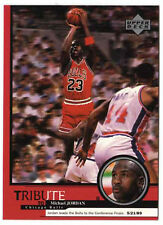 Michael Jordan 1999 UD Tribute Bulls to the Conference Finals Basketball Card