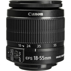 Canon EF-S 18-55mm f/3.5-5.6 IS II Lens: White Box