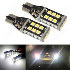 2x Xenon White 955 921 T15 W16W LED Bulb Side Indicator Tail Reverse Light 12V