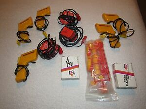 LOT OF VINTAGE AURORA AFX POWER SUPPLIES TRIGGERS CONTROLLERS CLEANING PADS