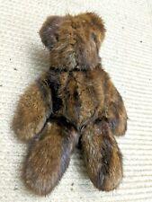 Mink Plush Teddy Bear