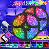 1/2//5M 0LED/M RGB LED Lichterkette Leiste Streifen bluetooth APP KTV Hotel  K