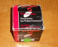 Samigon Tele/Wide Angle Converter Lens for Video Cameras