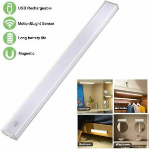 40cm Motion Sensor Cupboard Light, USB rechargeable, WARM WHITE