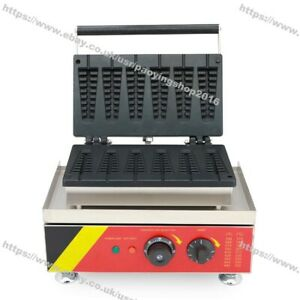 Commercial Use Non-stick Electric Lolly Belgian Waffle Stick Baker Maker Machine
