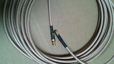 US MADE SMA plug  TO  SMA jack  MIL- RG-400 coax cable  50 ft  ( 50 ohm)