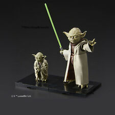 STAR WARS - 1/6 & 1/12 Yoda Model Kit Bandai